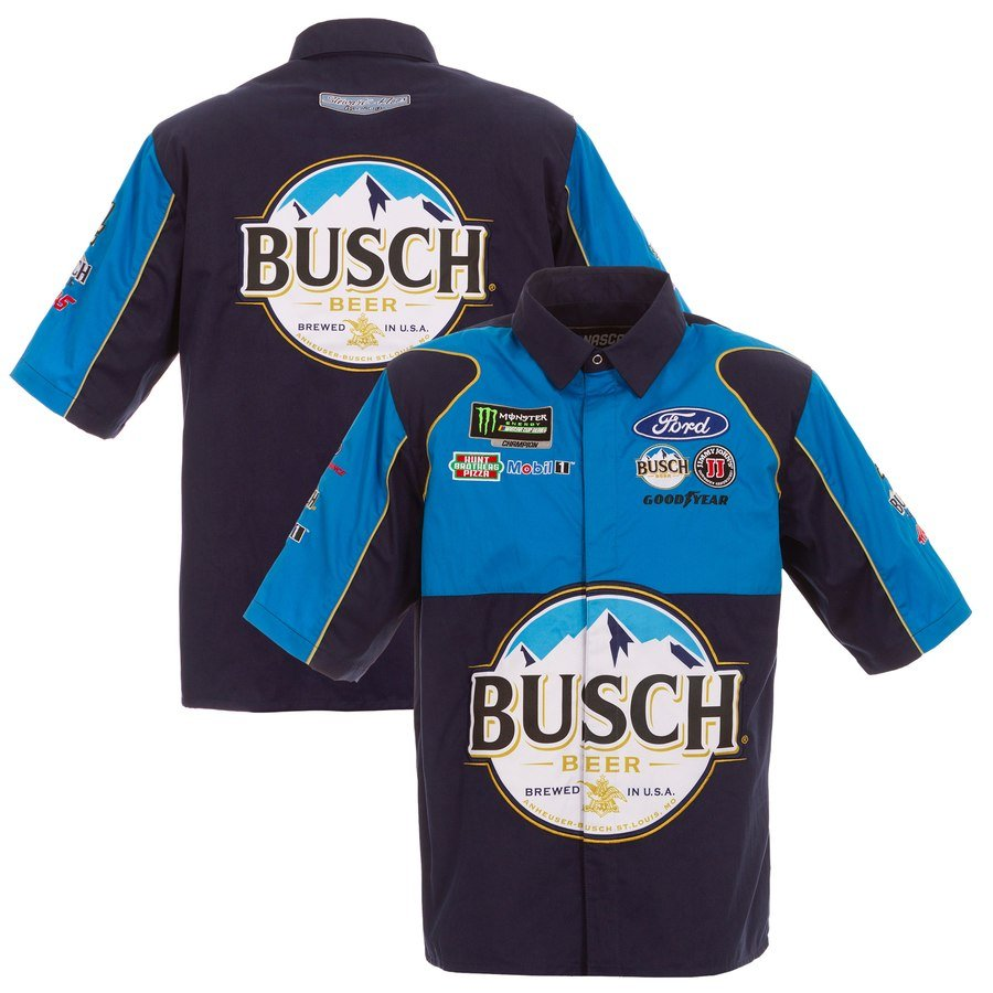 nascar tee shirts - kyle bush pit t-shirt in photo