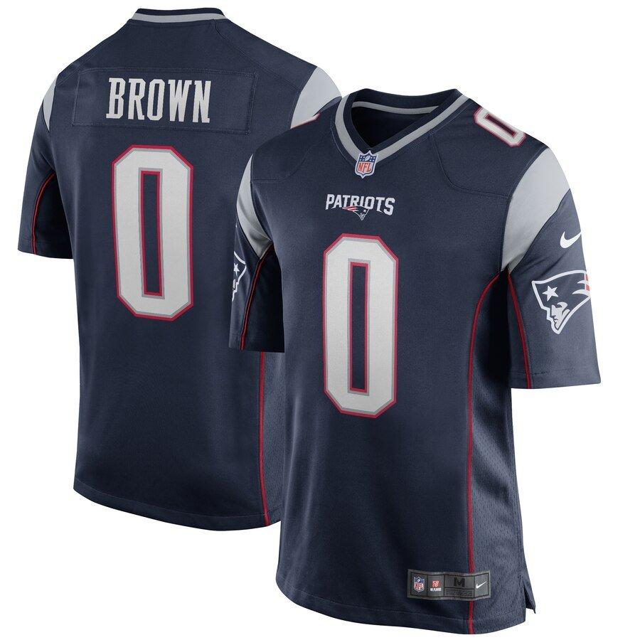 antonio brown jersey - new england patriots
