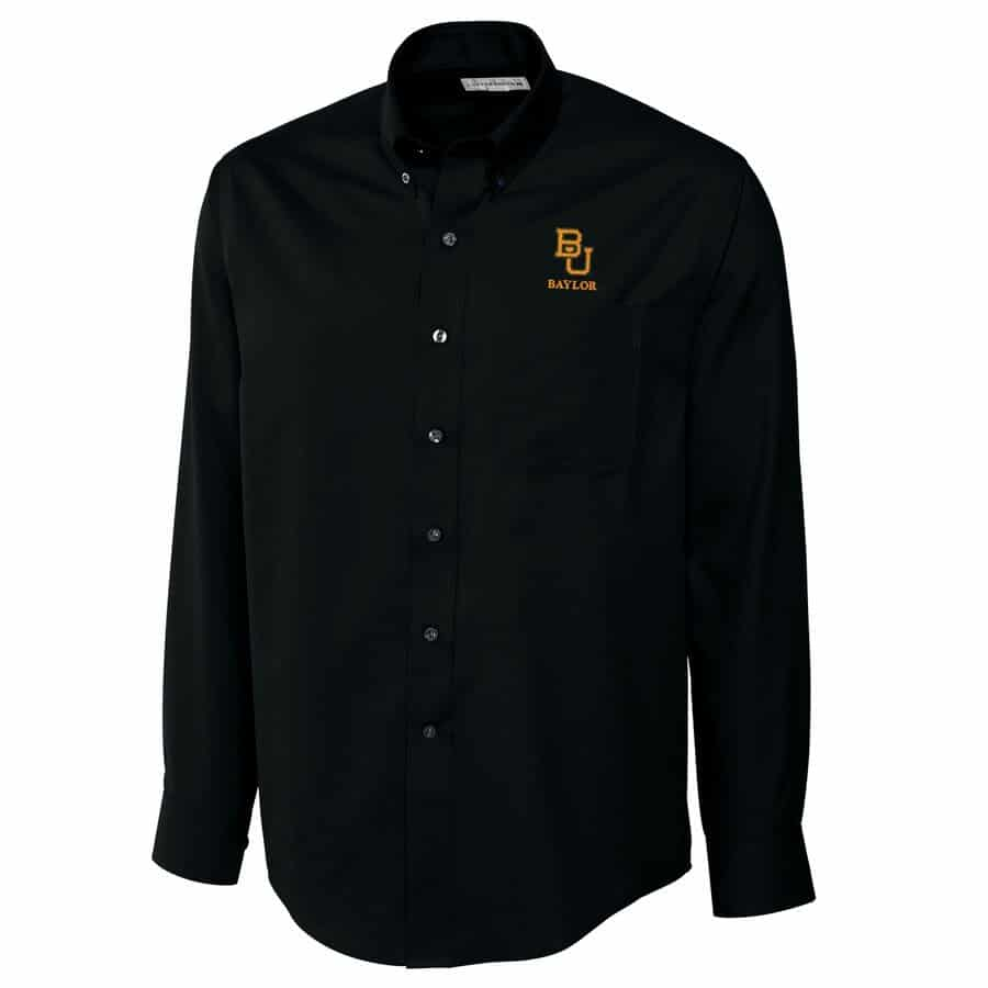 big and tall baylor bears button down shirt