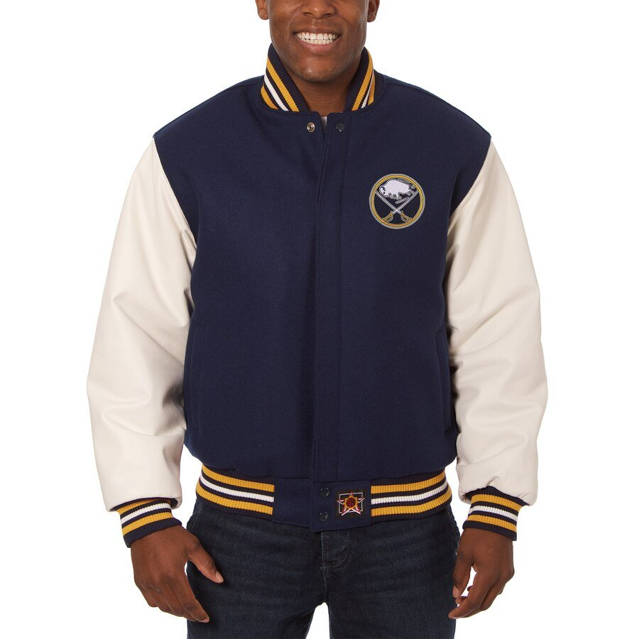 Buffalo Sabres Leather & Wool Jacket
