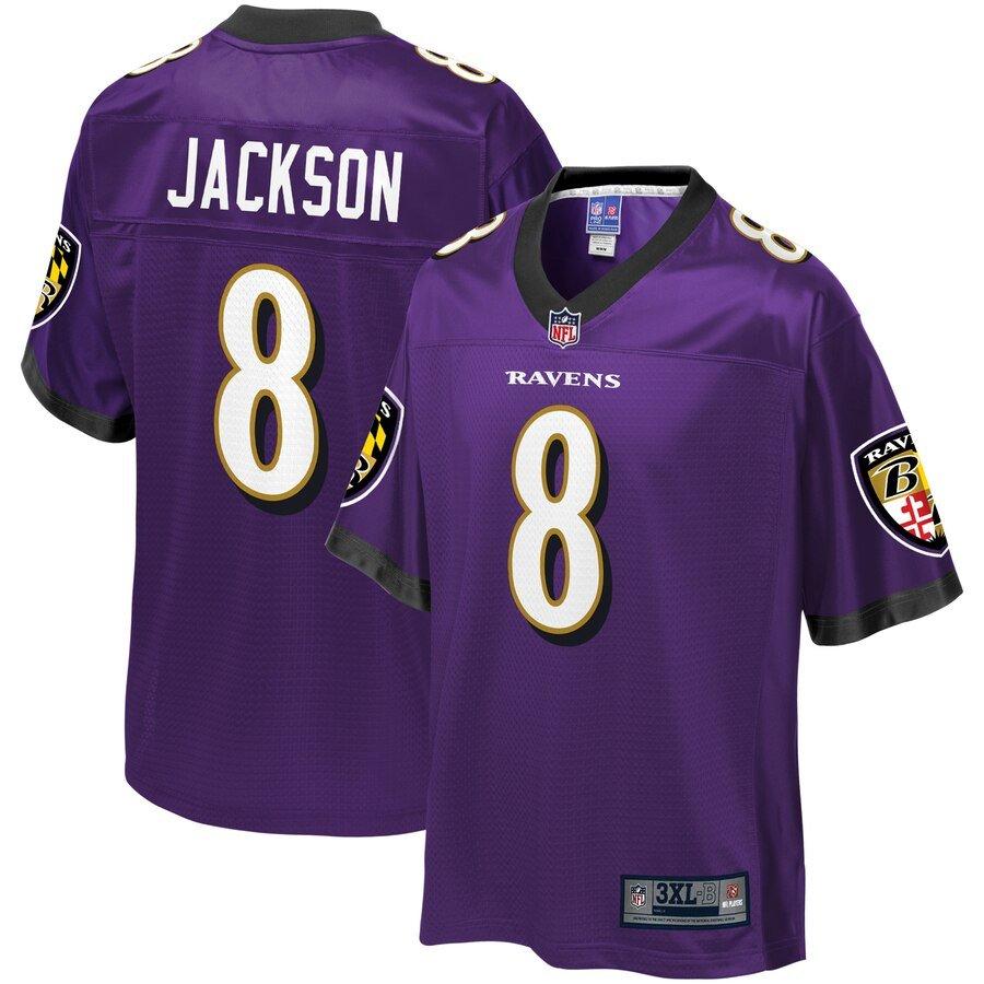 big & tall Lamar Jackson Jersey
