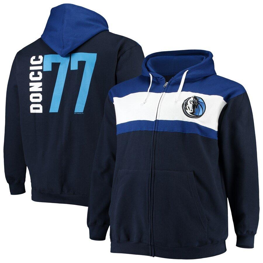 Luka Doncic Full Zip Hoodie Jacket