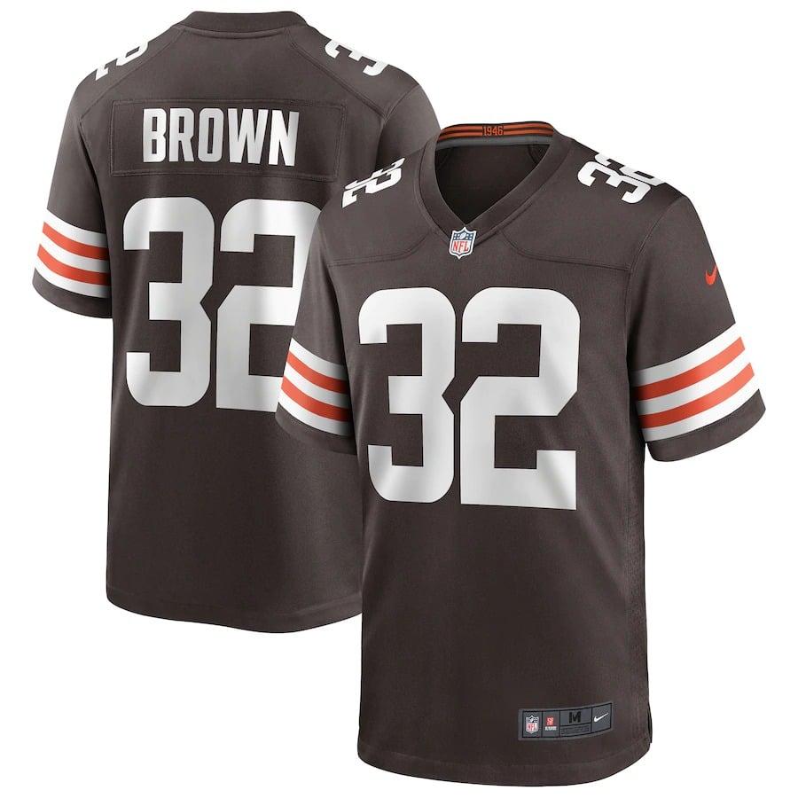 Jim Brown Jersey S-3X 4X 5X 6X XLT 2XLT 3XLT 4XLT 5XLT