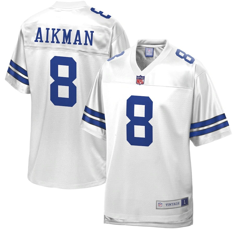 troy aikman jersey - dallas cowboys #8 by Pro Line