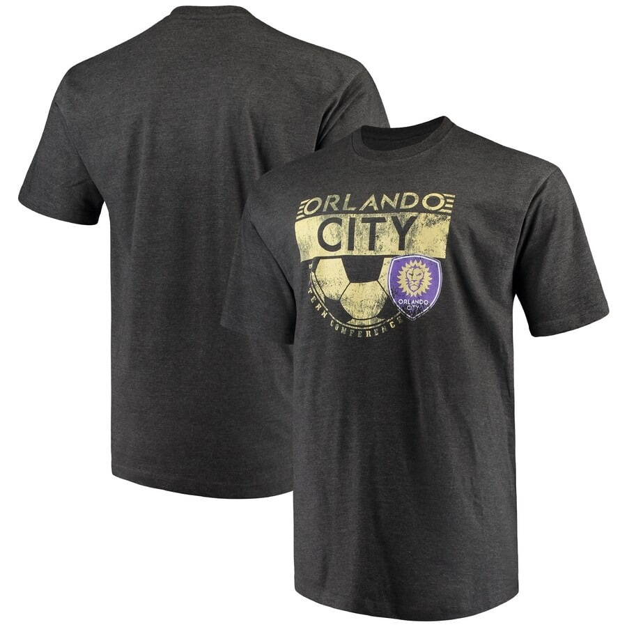 Orlando City SC Tee Shirt - S-3X 4X 5X 6X XLT-5XLT