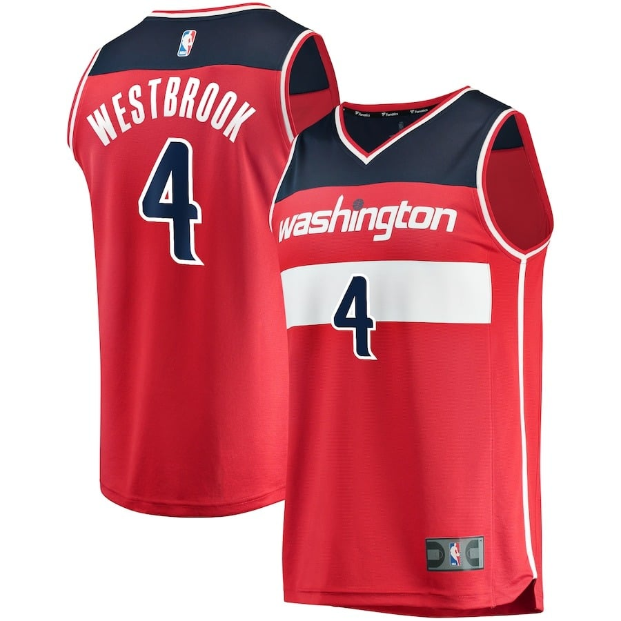 russell westbrook jersey - washington wizards